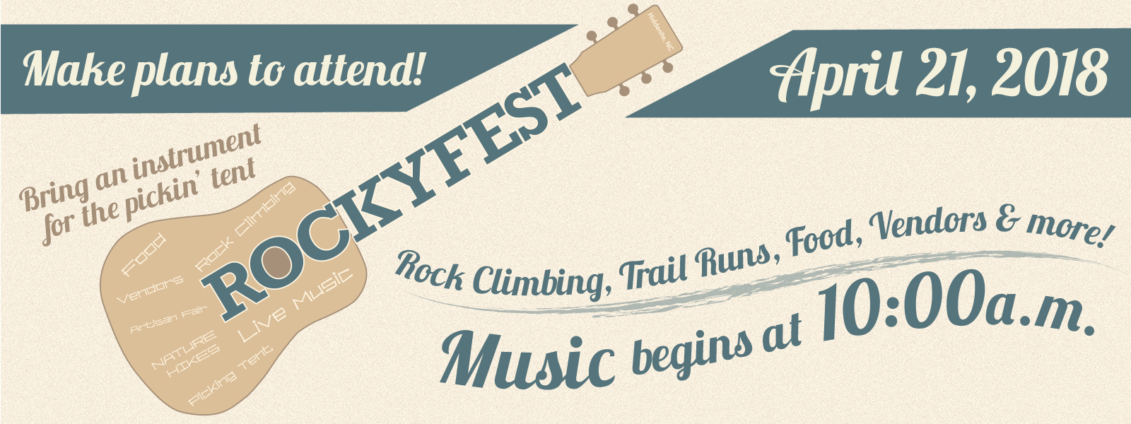 RockyFest - Saturday, April 21