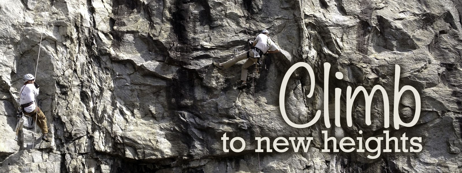 Climb To New Heights - Rock Climbing
